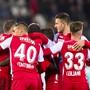 Sion jubelt über das 2:1 von Seydou Doumbia