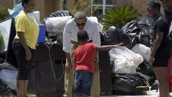 Obama nach Hochwasser in Louisiana