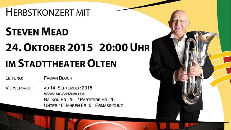 Flyer Herbstkonzert 2015