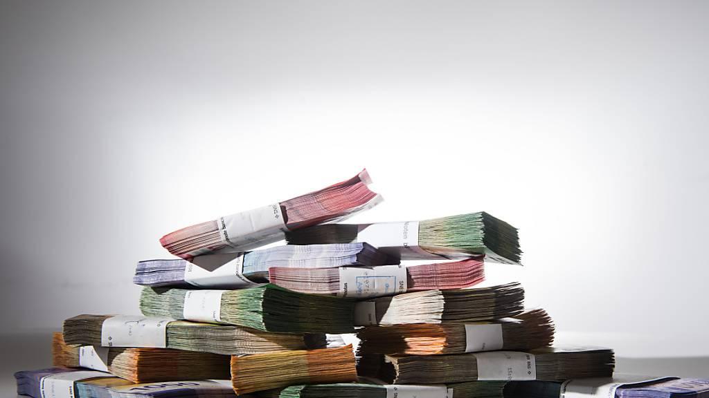 Der Bundesrat budgetiert für das kommende Jahr ein Minus. Grund dafür ist die Corona-Krise. (Themenbild)