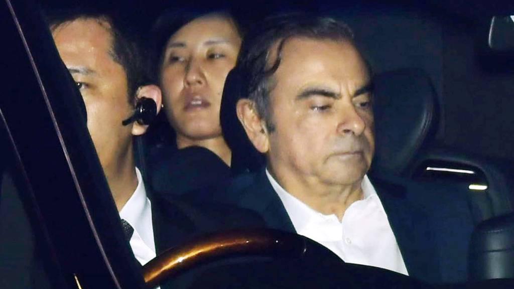 Der einst glorreiche Automanager Carlos Ghosn hat am Donnerstag in Tokio schwere Vorwürfe gegen die japanische Staatsanwaltschaft erhoben. (Archivbild)