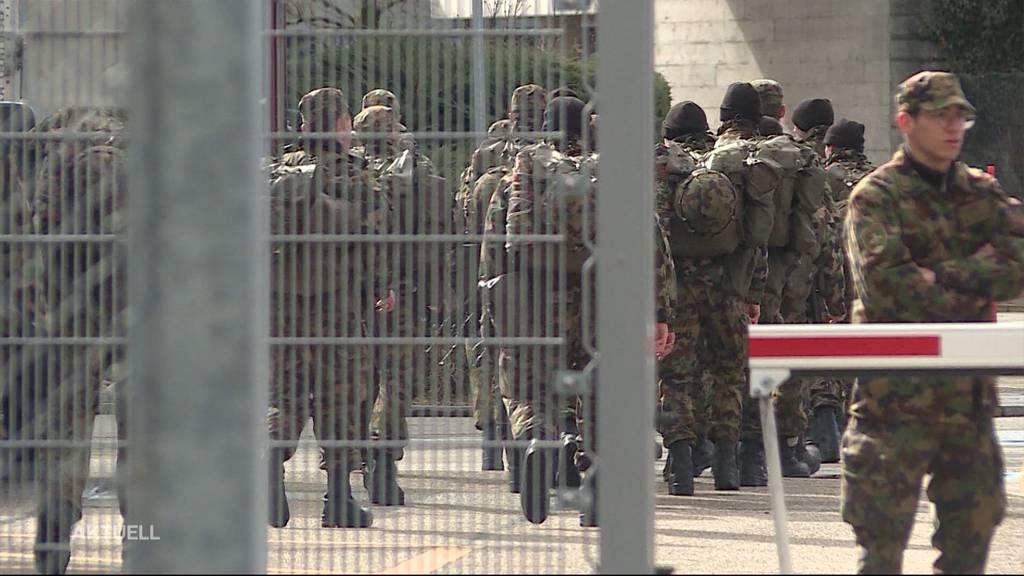 Erster Coronavirus-Fall beim Schweizer Militär