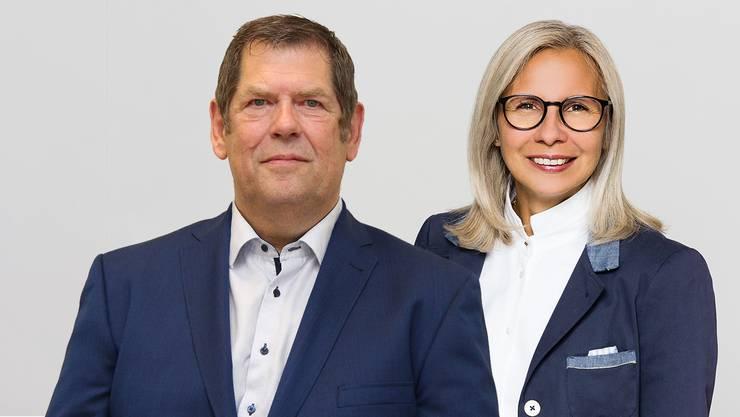 Heiner Hossli und Neide Zimmermann.