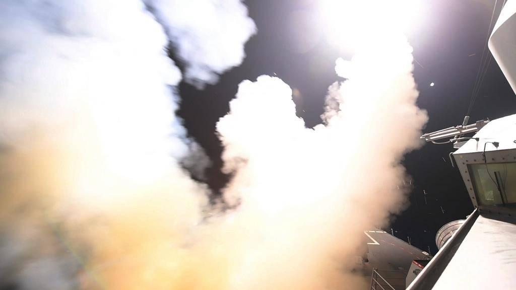 US-Angriff auf Syrien (© KEYSTONE/AP)