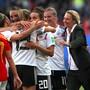 Nach Sieg gegen Spanien: Martina Voss-Tecklenburg kann mit Deutschland die WM-Achtelfinals planen