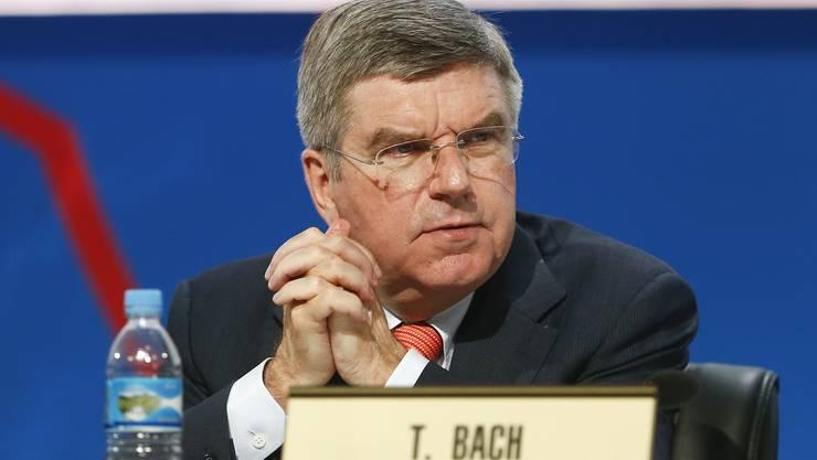 Der Deutsche Thomas Bach ist neuer IOC-Präsident