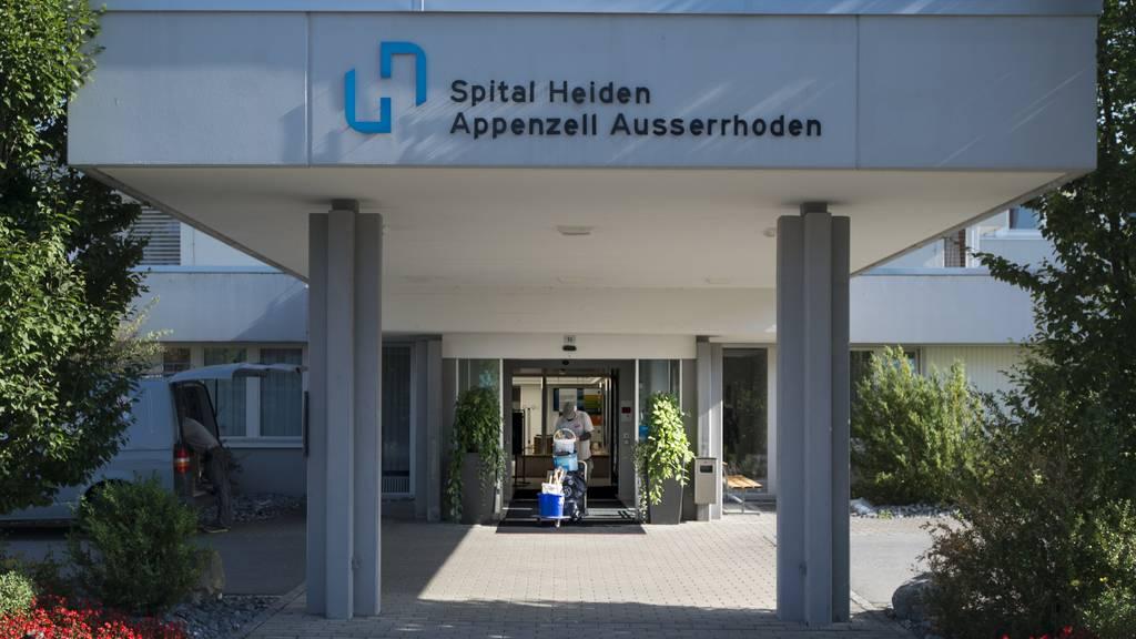 Das Spital Heiden verursachte im Jahr 2015 einen Verlust von 4,8 Millionen Franken. (Archiv)