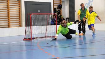 Chapf-Turnier 2014: Damals spielten die Vindonissa Panthers gegen die Grischa Capricorns 2 aus Chur. Carolin Frei/Archiv AZ