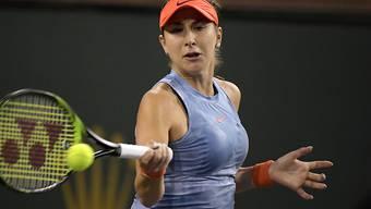 Belinda Bencic zieht in Charleston mit einem lockeren Zweisatzsieg in die Achtelfinals ein (Archivbild)