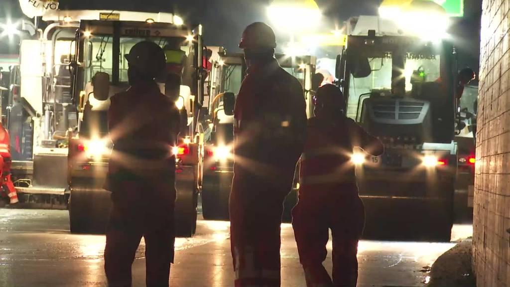 Nach Sommerferien: Mehr Polizei auf der St.Galler Stadtautobahn
