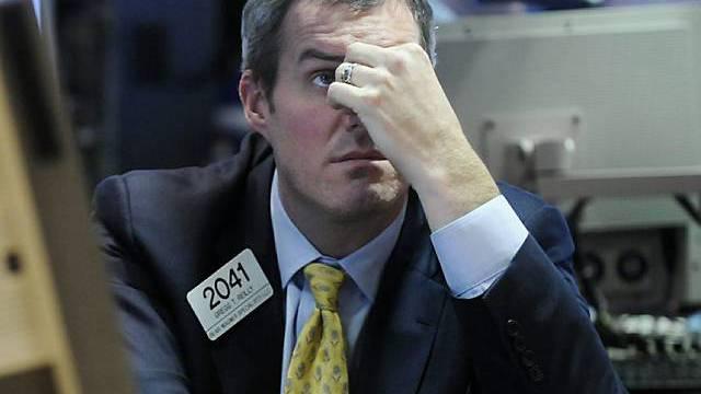 Dow-Jones-Index unter 7000 Punkten