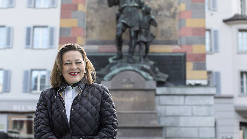 Will von Altdorf nach Bern wechseln: Die Urner Regierungsrätin Heidi Z'graggen soll der CVP den Ständeratssitz sichern. (Archivbild)