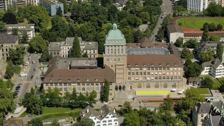 Luftaufnahme der Universität Zürich