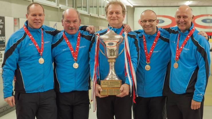 Solothurner Curler sichern sich Teilnahme an der Senioren-WM.
