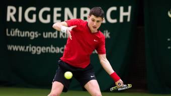 Jetzt kann der Solothurner Nachwuchsspieler Timo Lanz Nationalliga-A-Luft schnuppern.
