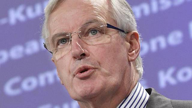 EU-Kommissar Barnier will Boni begrenzen (Archiv)