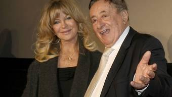 Richard Lugner - hier mit seinem diesjährigen Opernball-Gast Goldie Hawn - achtet Donald Trump als Geschäftsmann.