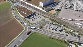 Unabhängig vom Oase-Projekt planen das Bundesamt für Strassen und der Kanton die Verbesserung der Seebli-Kreuzung.