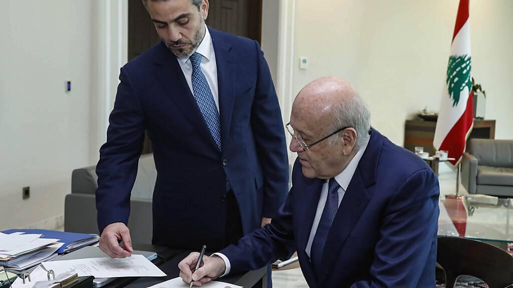 Machtkampf beendet: Krisenland Libanon bekommt neue Regierung