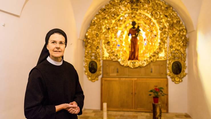 Priorin Irene Gassmann und ihre Schwestern kehren vom Exil ins Kloster Fahr zurück.
