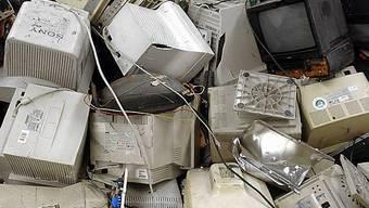 Elektroschrott wird recycelt (Archiv)