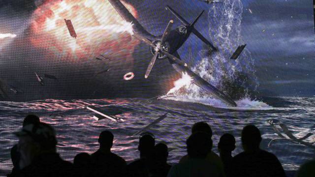 Premiere des Videogames «World of Warships» an der Electronic Entertainment Expo in Los Angeles. Foto: Keystone