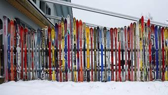 Die Skigebiete sind jetzt bereit für den ganz grossen Andrang.Keystone