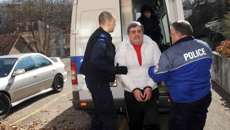 Bulat Tschagajew: In Handschellen abgeführt.
