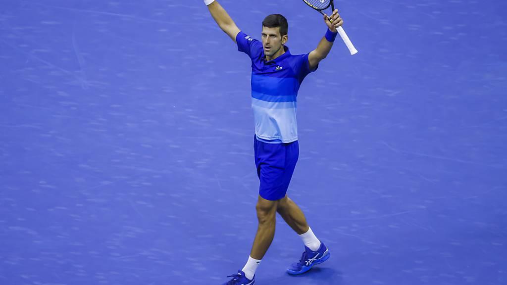 Novak Djokovic steht vor dem Gewinn des Grand Slam
