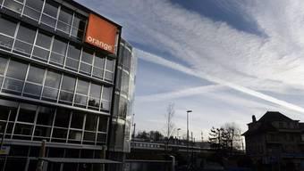 Blick auf den Hauptsitz von Orange Schweiz in Renens (Archiv)