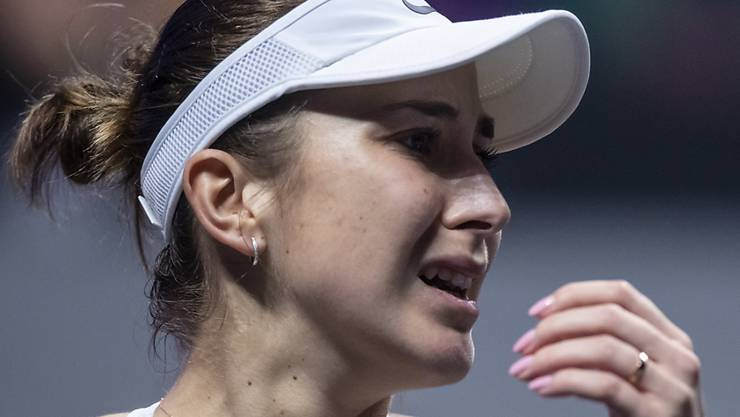 Belinda Bencic scheitert am WTA-Turnier in Shenzen in der ersten Runde