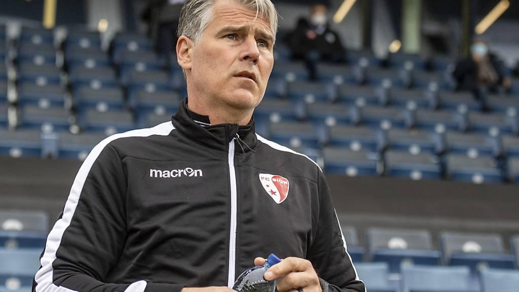 Kann Marco Walker den FC Sion noch aus der Bredouille führen?