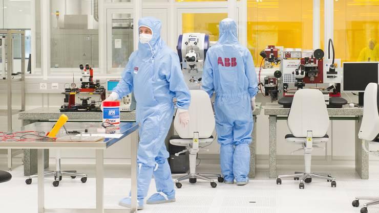 ABB-Konzernforschungslabor in Baden-Dättwil: Für den Standort Schweiz wird Forschung immer wichtiger. MAN