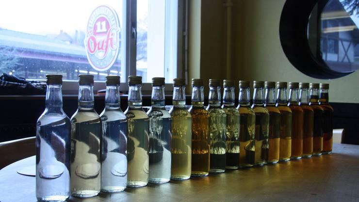 Die Farben der Whisky-Jahrgänge