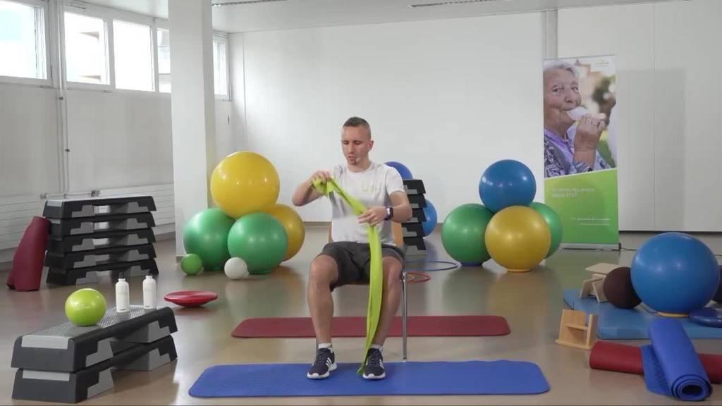 «Gymnastik im Wohnzimmer» vom 30. Juli 2021