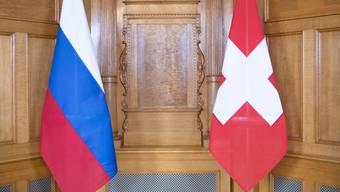Die Beziehungen zwischen der Schweiz und Russland sind schon jetzt angespannt. (Symbolbild/Archiv)