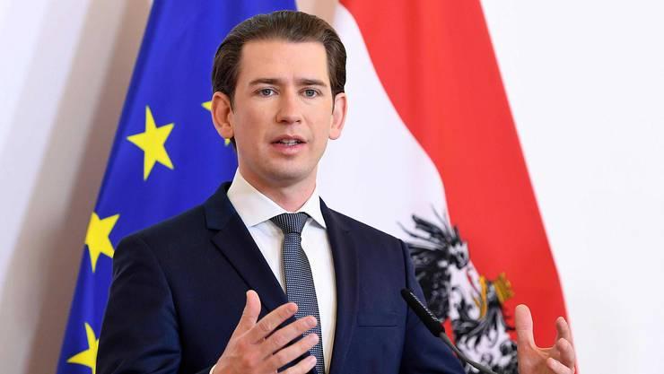 Der österreichische Bundeskanzler Sebastian Kurz verblüfft mit einer Aussage zur Schweiz.