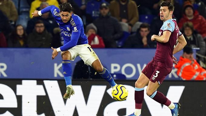 Ayoze Perez (im blauen Dress) zeichnete sich beim 4:1-Sieg von Leicester City zuhause gegen West Ham United als Doppeltorschütze aus