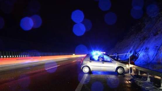 Unfall auf der A2 in Diegten (Archivbild).