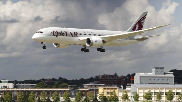 Der Auftrag beinhaltet 30 Langstreckenjets vom Typ 787, die auch als Dreamliner bekannt sind. (Archiv)