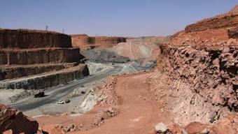 Blick auf eine Uranmine im Niger (Symbolbild)