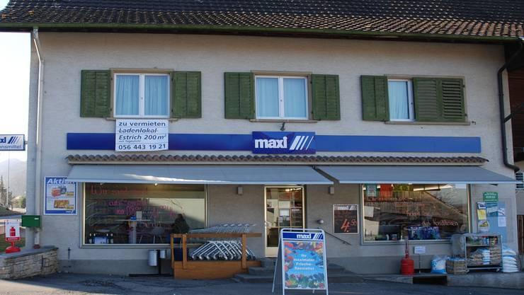 Nach Volg zieht nun auch Maxi aus Oberflachs weg.az-Archiv/ksc
