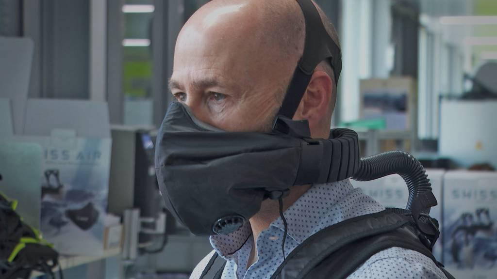 Für 1200 Franken: Wattwiler Firma entwickelt «Super-Maske»