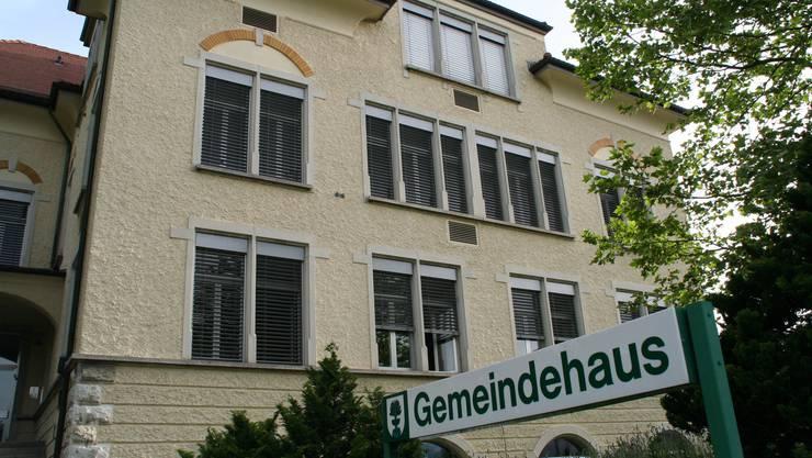 Das Gemeindehaus in Buchs.