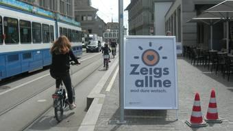 Die Kampagne «Zeigs allne wod dure wotsch» soll alle Verkehrsteilnehmenden ansprechen.