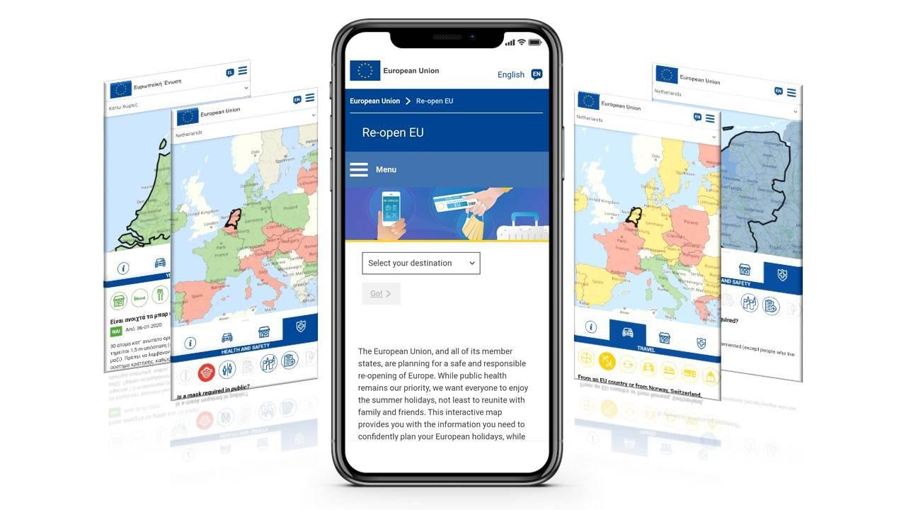 Re-Open EU App