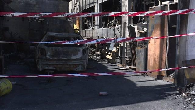 Autogarage abgebrannt, Lebenswerk zerstört