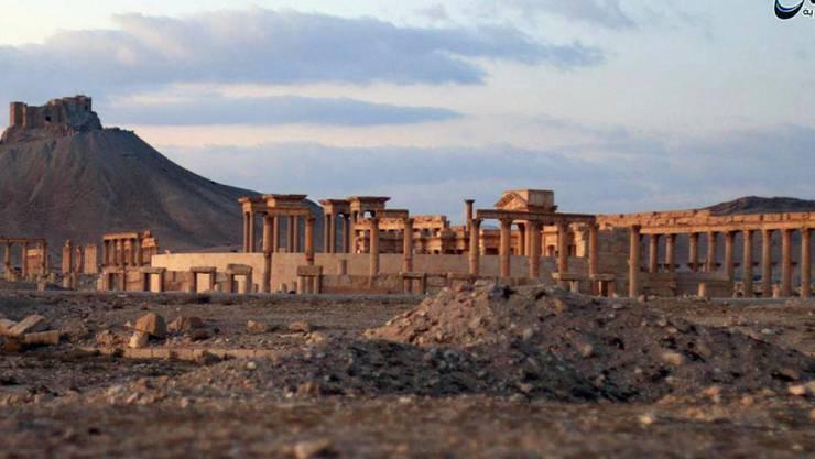 In der historischen Stadt Palmyra in Syrien hat die Terrormiliz Islamischer Staat zwölf Menschen hingerichtet. (Archivbild)