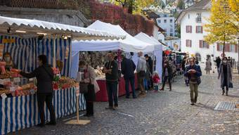 Herbstmarkt, Es gab viel zu entdecken.