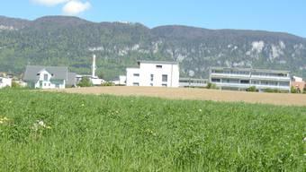 Das Areal Trittibachhof, das südlichste Gemeindegebiet von Langendorf, soll langfristig bebaut werden.